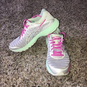 ASICS Running shoe.